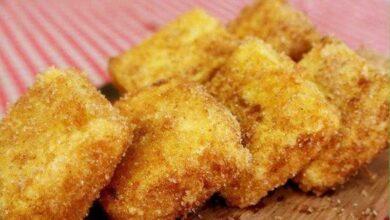 Foto de Leite frito cremoso de um jeito que você nunca viu