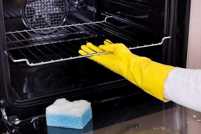 como limpar as grades do fogão