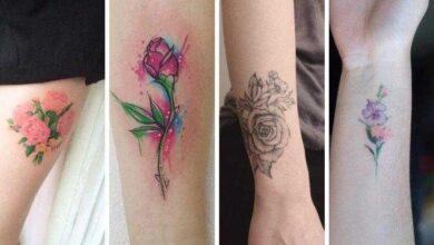 Foto de 70 Tatuagem de flores para você se inspirar