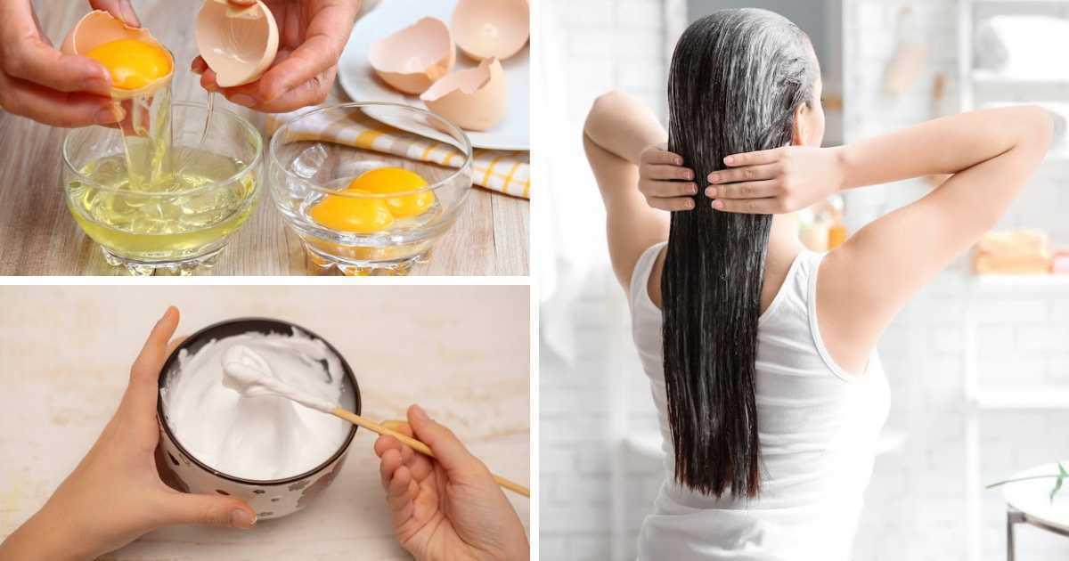 Como fazer reconstrução capilar caseira com ovo
