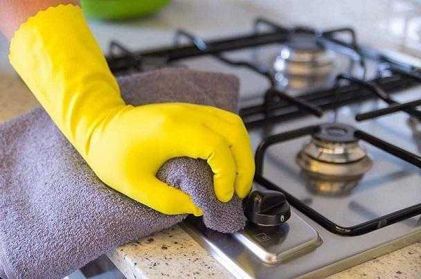Como-limpar-as-grades-do-fogão