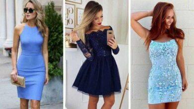 Foto de Vestido azul: 60 Modelos que vão do simples aos mais chiques