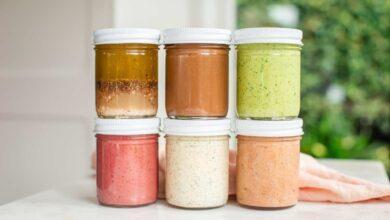 10 receitas de molhos para salada fáceis