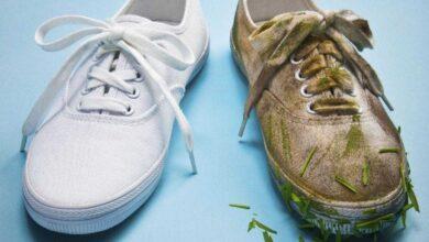 Foto de 2 Truques para Limpar e Deixar Sapatos Brancos Como Novos