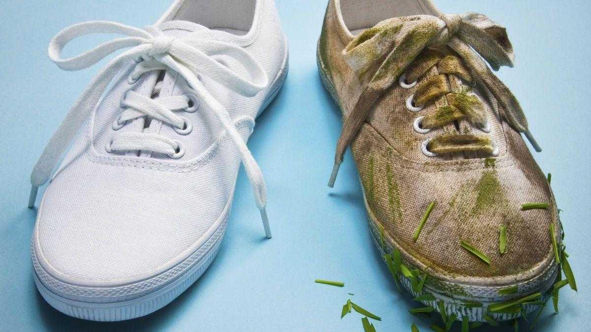 2 Truques para Limpar e Deixar Sapatos Brancos Como Novos
