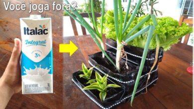 Aprenda a fazer jardineira reciclada