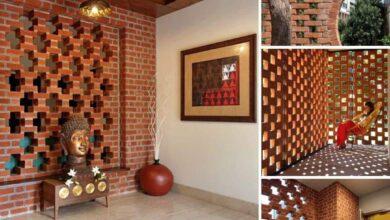 18 Ideias de Muros feitos com tijolinho
