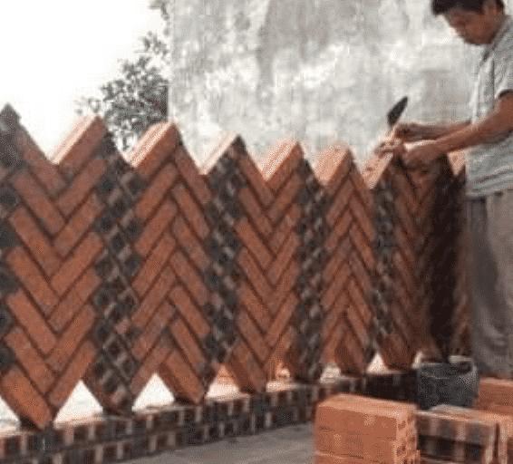 Ideias de Muros feitos com tijolinho