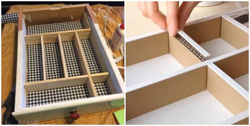 Como fazer separador de gavetas?