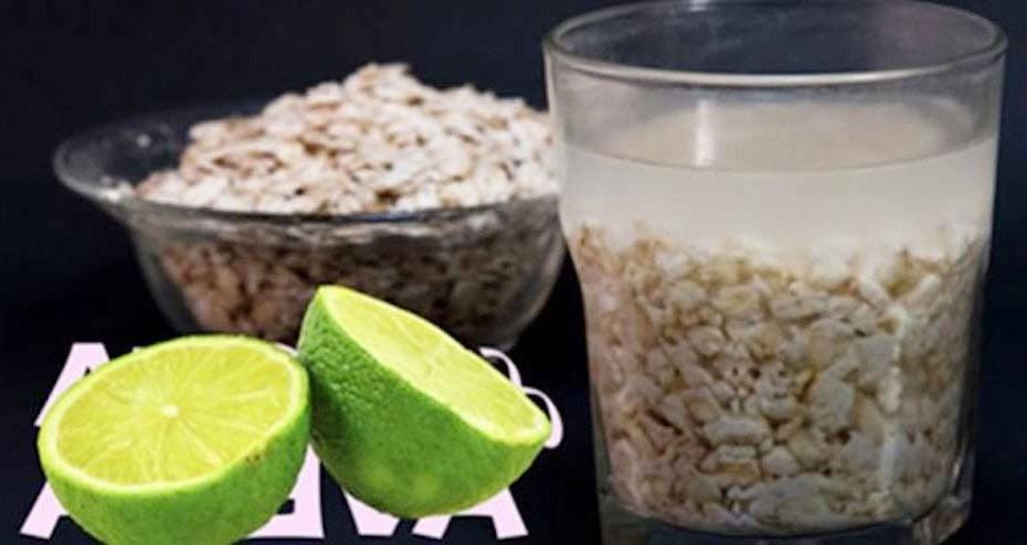 Suco de aveia e limão para baixar o peso e reduzir a barriga mais rápido