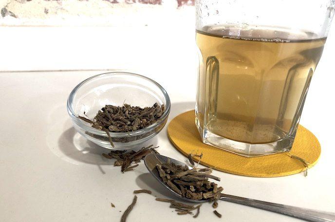 chá valeriana