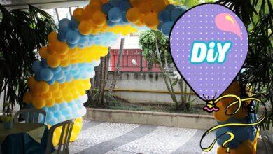Como Fazer Túnel de Balão para Festas