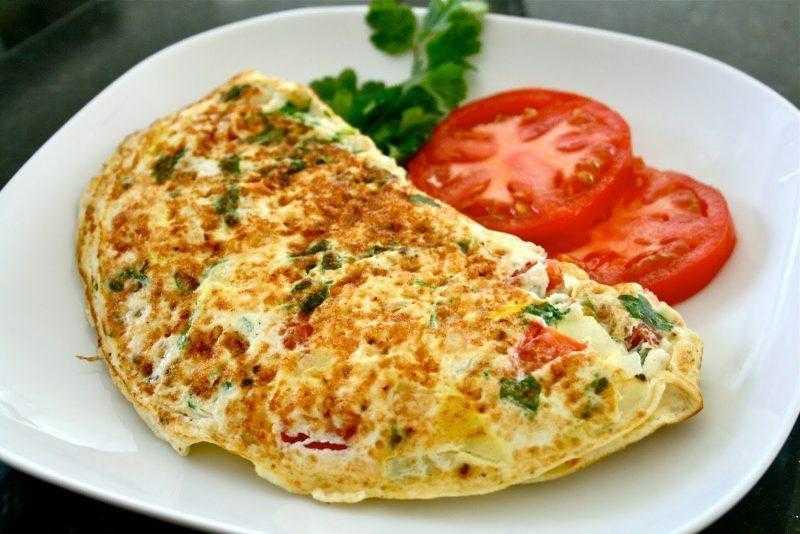 Receita de Omelete de Frango Pratica