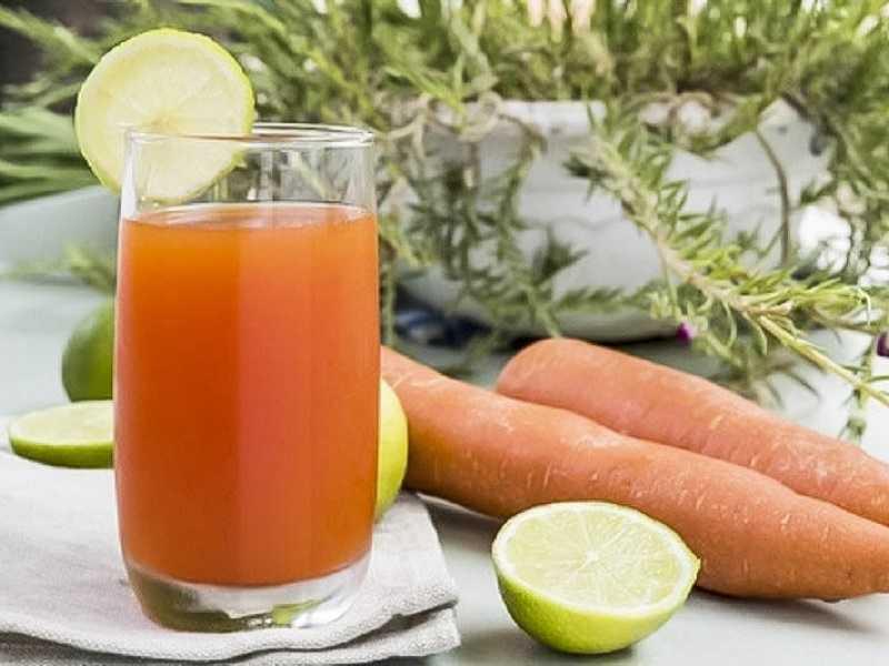 Suco de limão e cenoura – uma verdadeira fonte de vitaminas – Natureza e sua Saúde